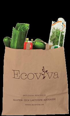 Bild som föreställer Vegetariska Gluten- och Laktosfria Matkasse