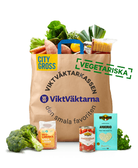Bild som föreställer ViktVäktarnas Vegetariska Matkasse